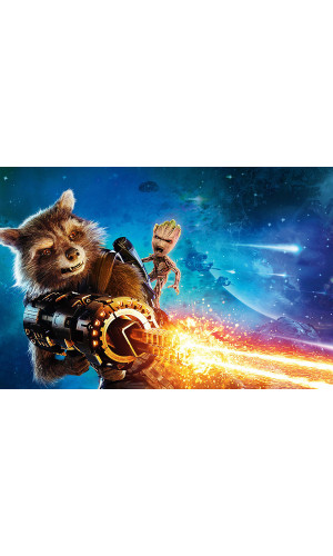 Poster Baby Groot - Guardians Of The Galaxy - Guardiões Da Galaxia - Filmes