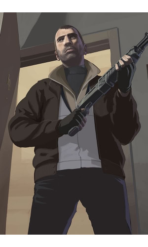 Poster Grand Theft Auto Iv