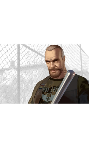 Poster Grand Theft Auto Iv Lost And Damned