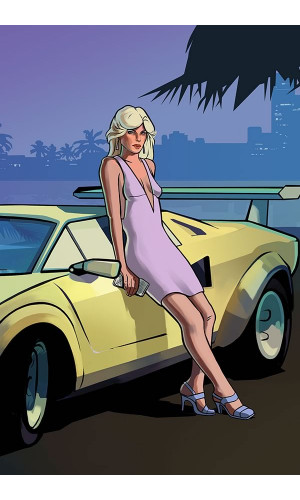 Poster Grand Theft Auto Vice City