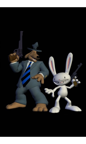 Poster Game SAM & Max Season One