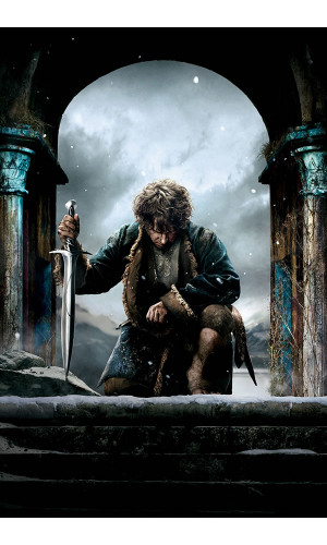 Poster Hobbit Cinco Exércitos - Five Armies
