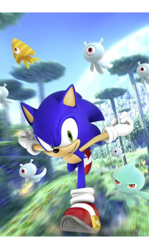 Poster Game Sonic Colours