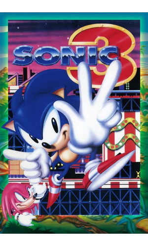 Poster Game Sonic The Hedgehog