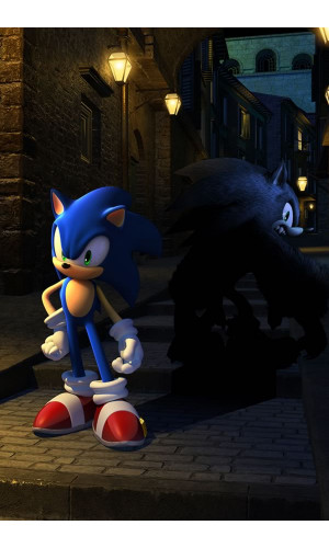 Poster Game Sonic Unleashed
