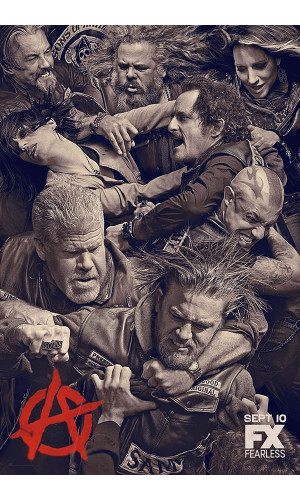 Poster Series Soa Sons Of Anarchy Filhos Anarqui