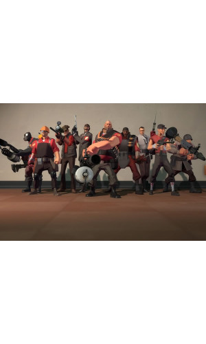 Poster Game Team Fortress