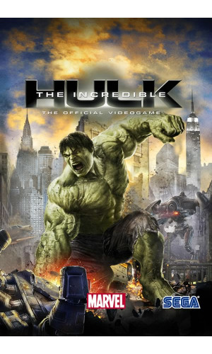 Poster Game The Incredible Hulk