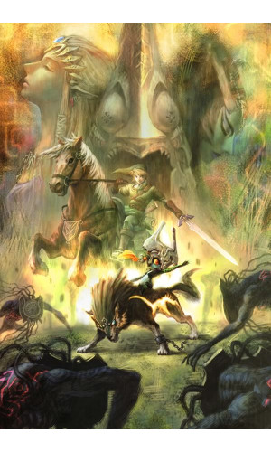 Poster Game Legend of Zelda