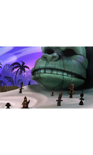 Poster Game The Secret of Monkey Island