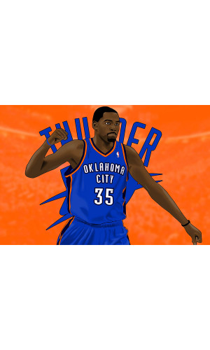 Poster Kevin Durant - Basquete - Nba