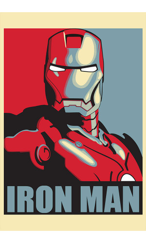 Poster Alternativo Iron Man Homem Ferro