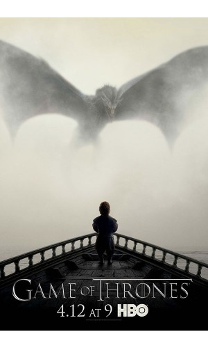 Poster Game Of Thrones Dragao Got