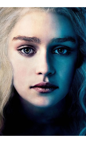 Poster Game Of Thrones Got Daenerys Targaryen